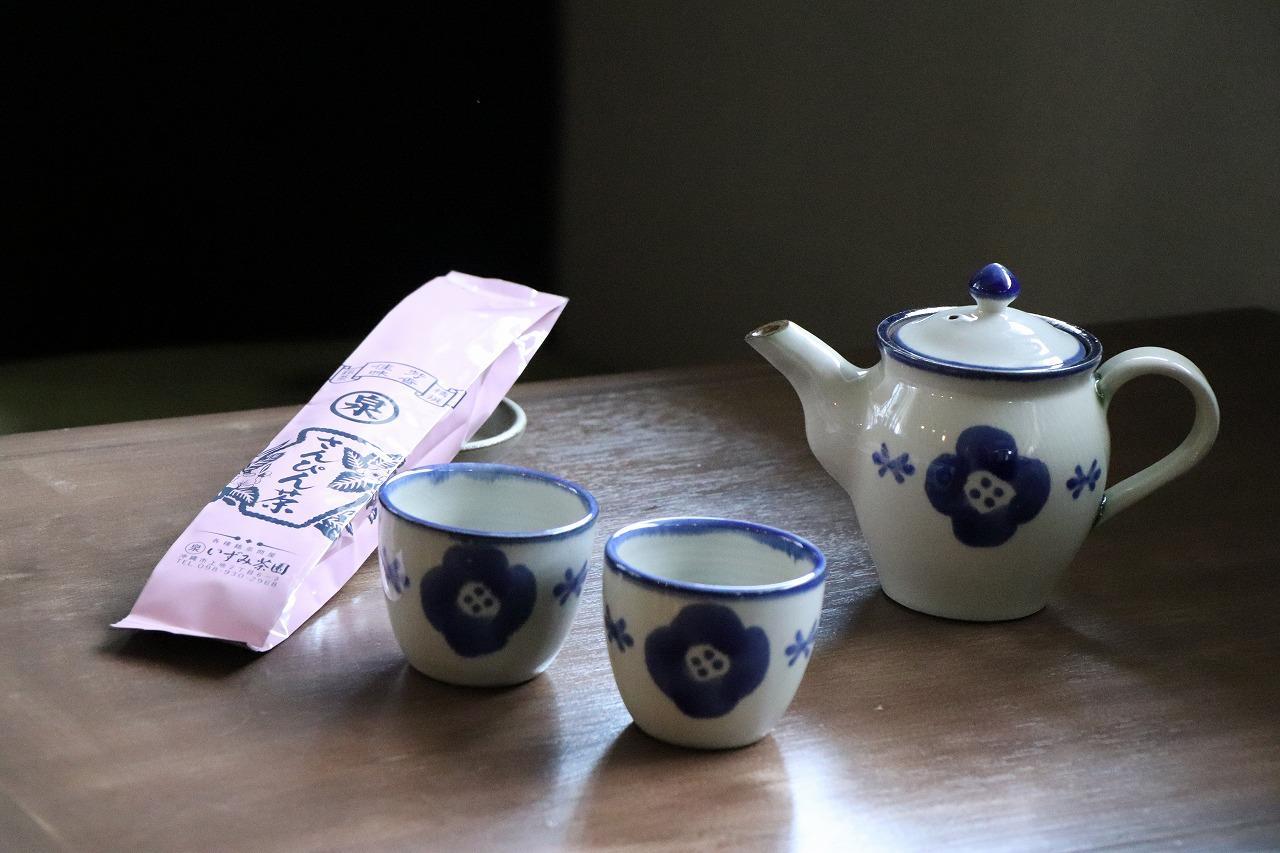 お茶ポットフラワー青セット.jpg